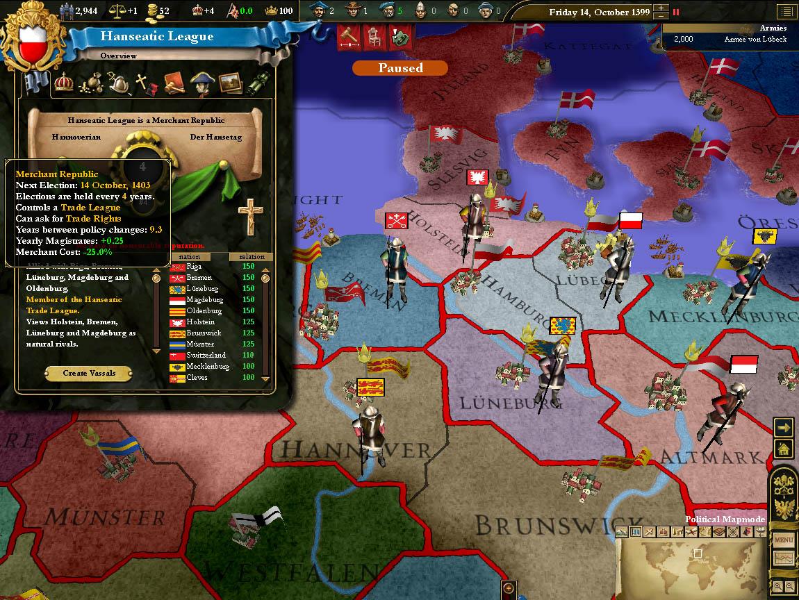 Скачать моды европа 3 великие династии
